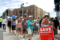 Save Marrickville from overdevelopment rally