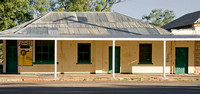 Derelict buildings in Wilcannia