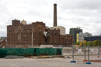 Demolition of Kent Brewery