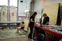 Tim Johnson's studio