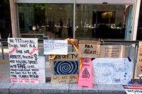 Occupy Sydney banners